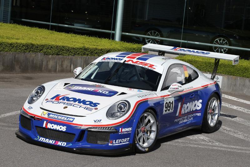 Kronos 2017 3 - Kronos et Didier Van Dalen fêtent leurs 20 ans en compétition avec Porsche