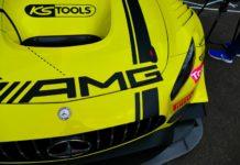 La Mercedes AMG GT3 HTP Motorsport #86 aux 24h de Spa 2016