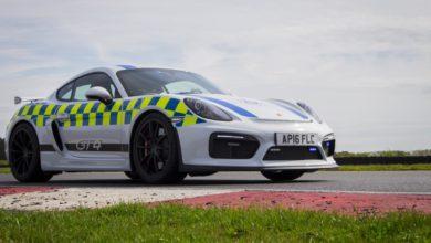 Photo de La police britannique adopte une Porsche Cayman GT4