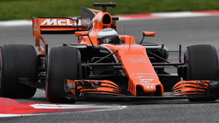 skysports mclaren fernando alonso mcl32 testing f1 3905316 - Vettel prend la position de leader