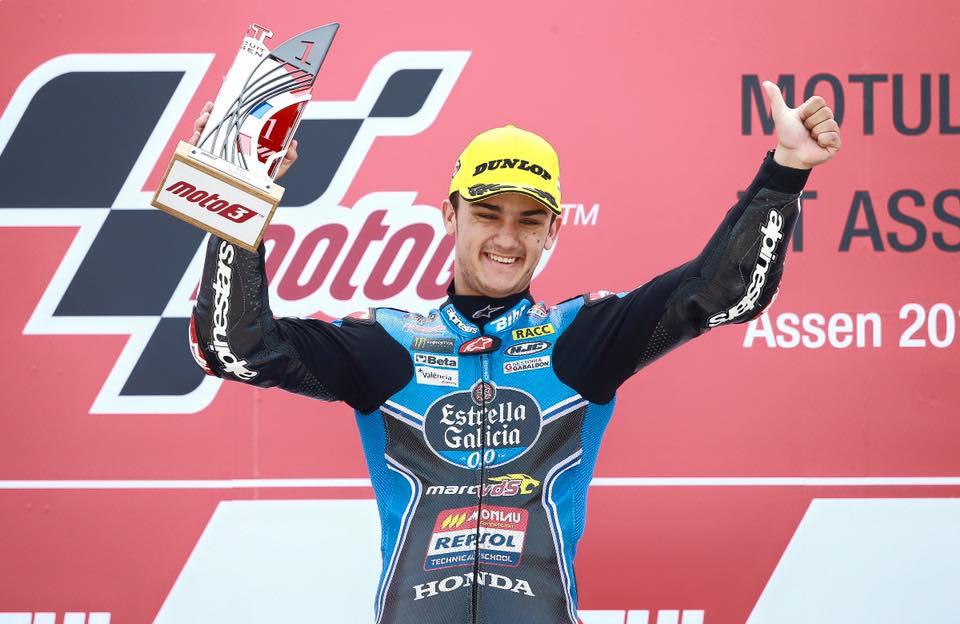 Moto3 : Aron Canet vainqueur, Jules Danilo cinquième