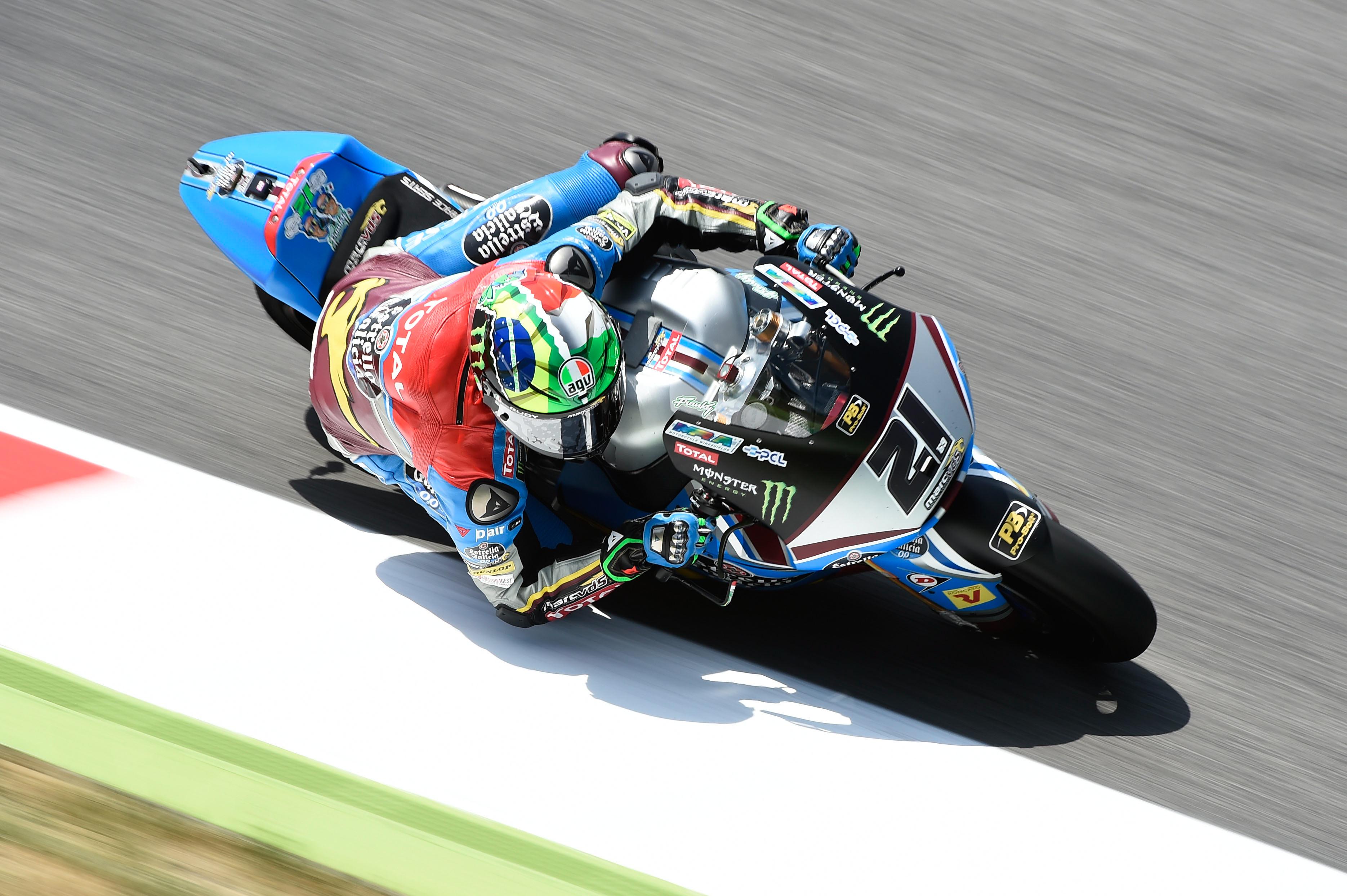 Moto2: Lüthi partira de la deuxième ligne