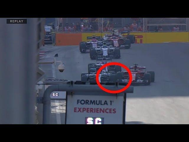 Vettel vs Hamilton, les images de l'incident