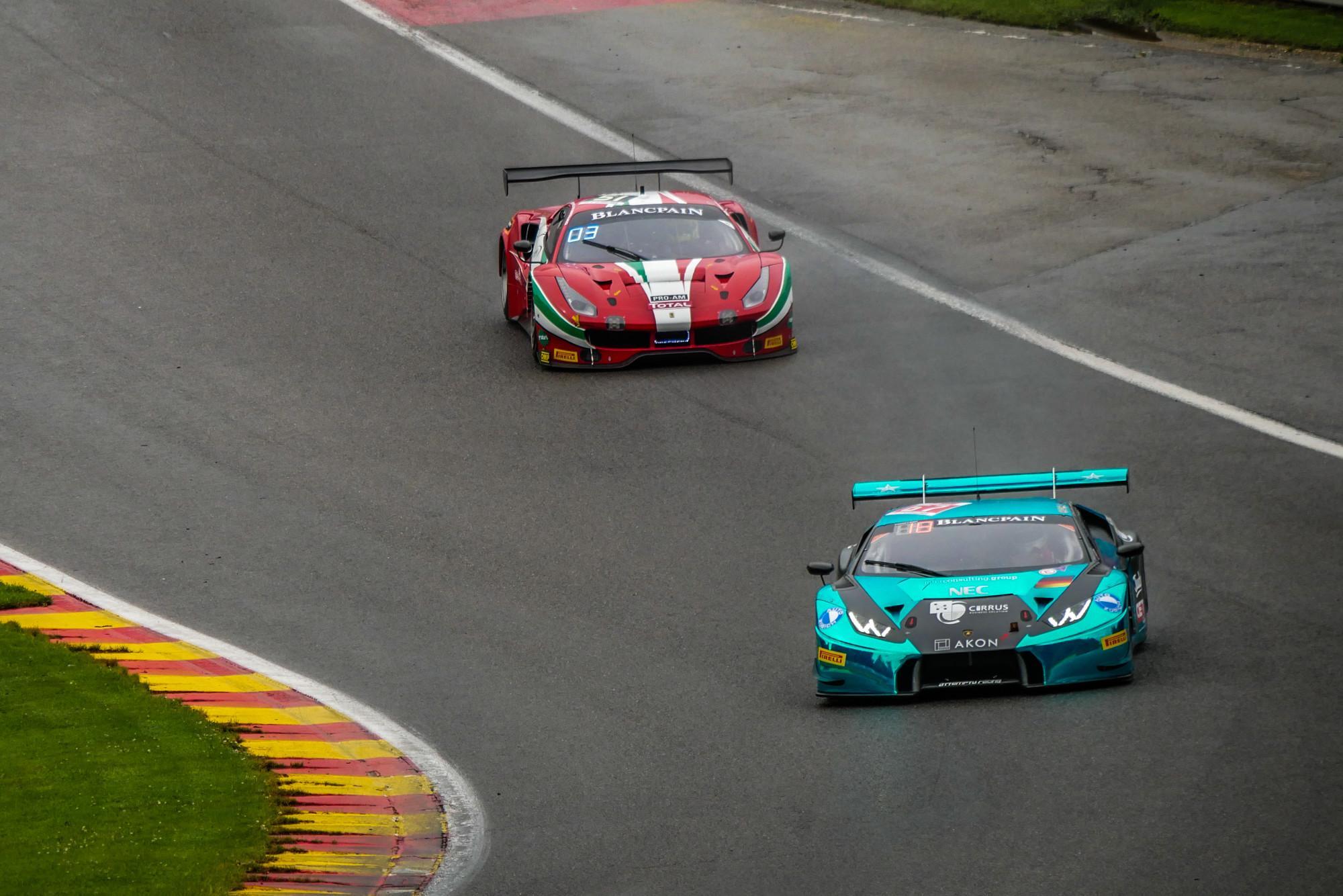 24 Heures de Spa-Francorchamps 2017 - Lamborghini & Ferrari