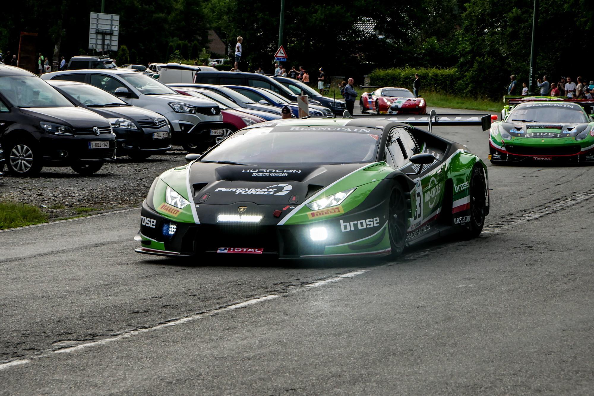 Mirko Bortolloti en tête des essais Lamborghini Huracan