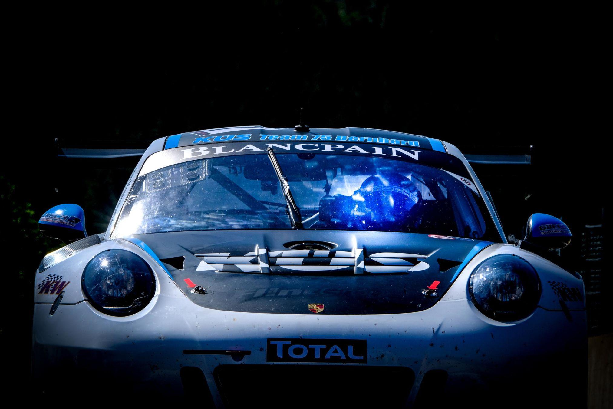 Porsche 911 GT3-R Test Day Spa-Francorchamps