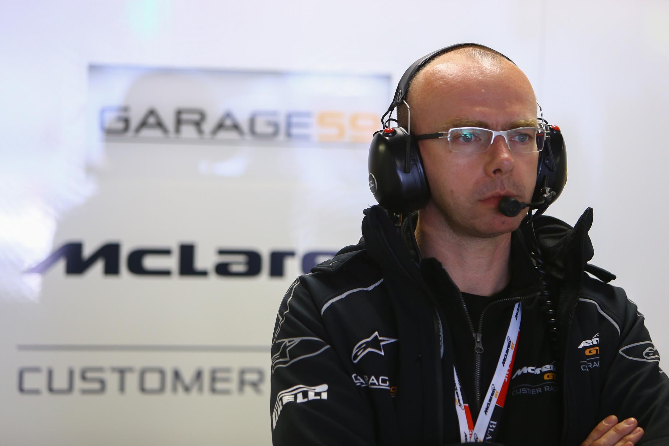 Bas Leinders Spa McLaren