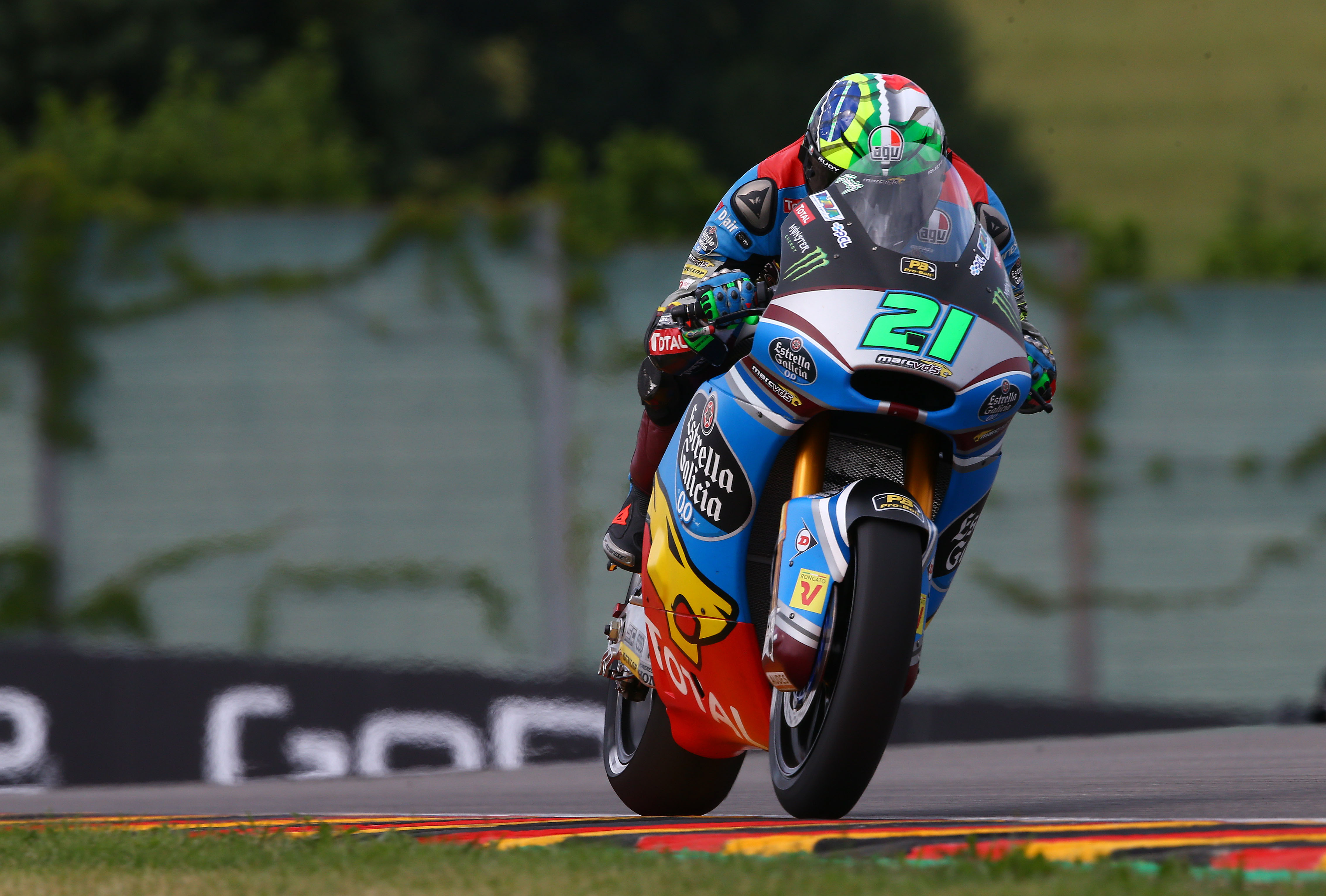 La pole pour Franco Morbidelli, Lüthi septième — GP d'Allemagne