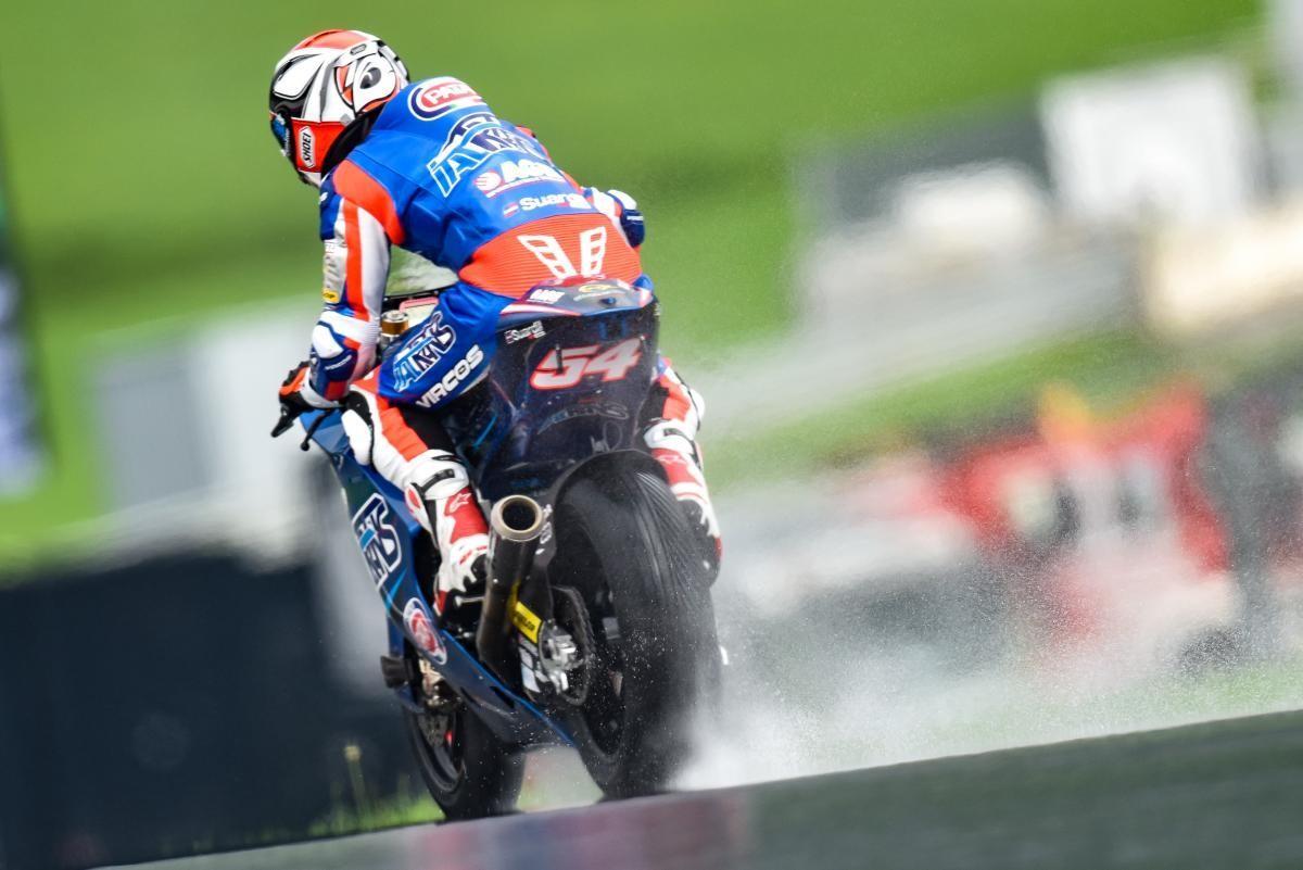 Moto2 en Autriche: Siméon chute, Morbidelli s'impose