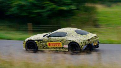 Photo de La nouvelle Aston Martin Vantage apparait sur la toile