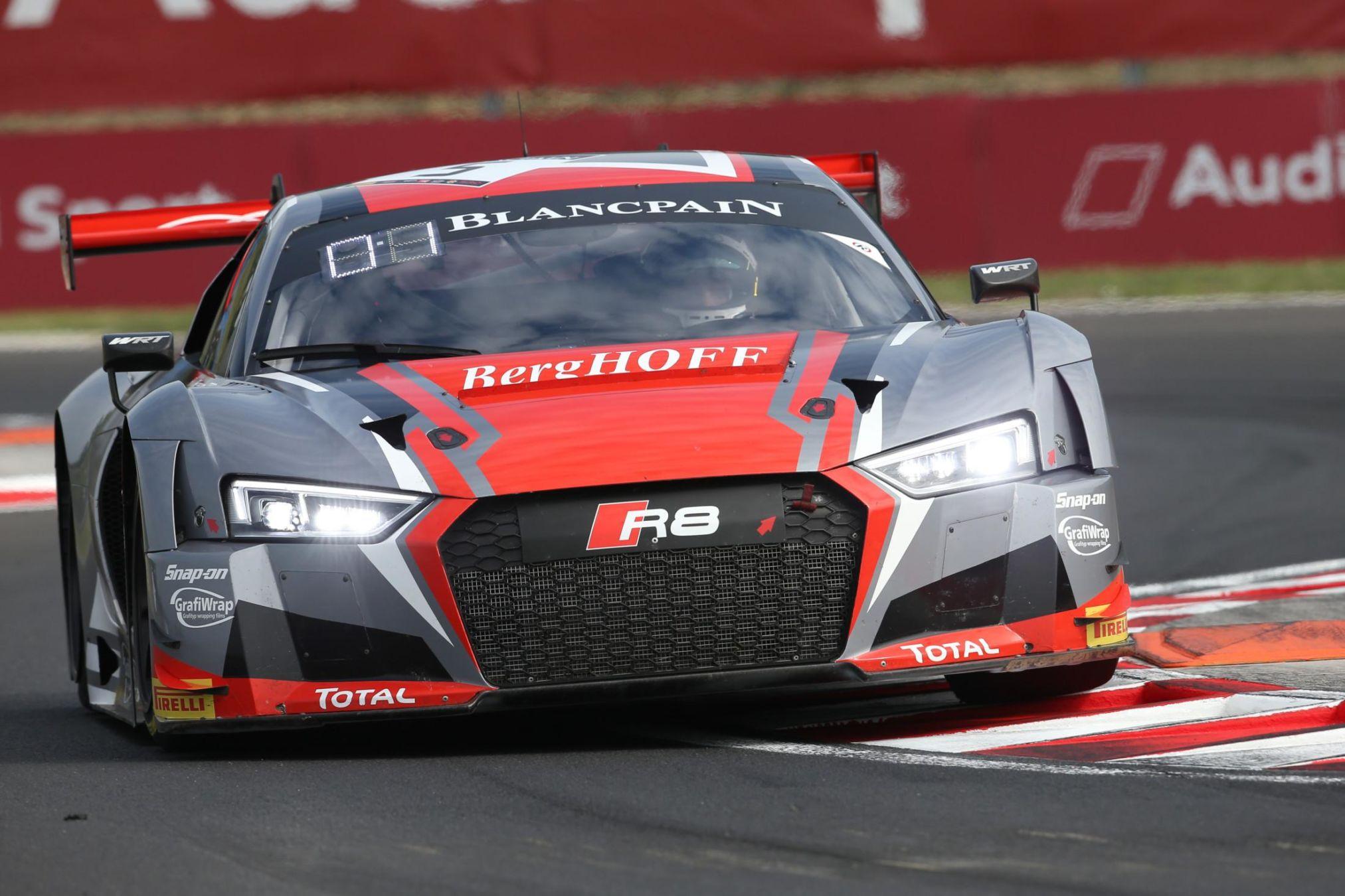 Blancpain Sprint Cup - Audi R8 LMS WRT #5 Dries Vanthoor/ Marcel Fässler