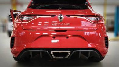Photo de La nouvelle Renault Megane RS s'affiche à nouveau