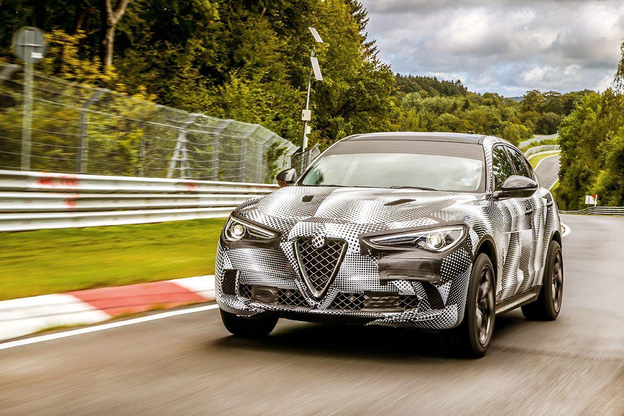 L'Alfa Romeo Stelvio Quadrifoglio s'offre un record sur le Nürburgring