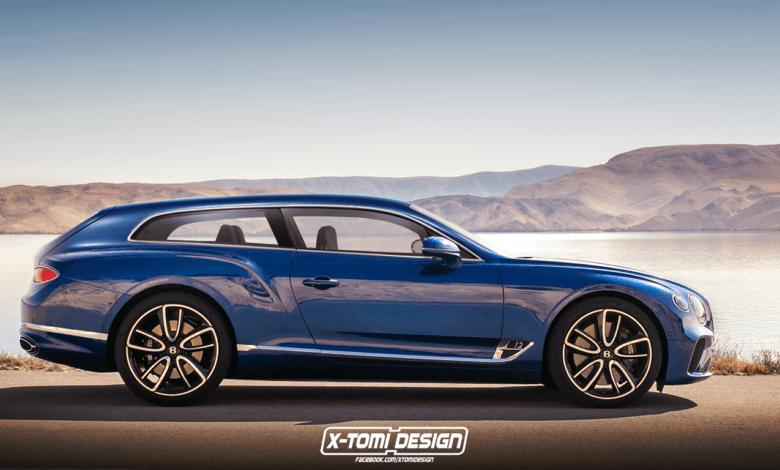 Photo de Un concept de Bentley Continental GT Shooting Brake