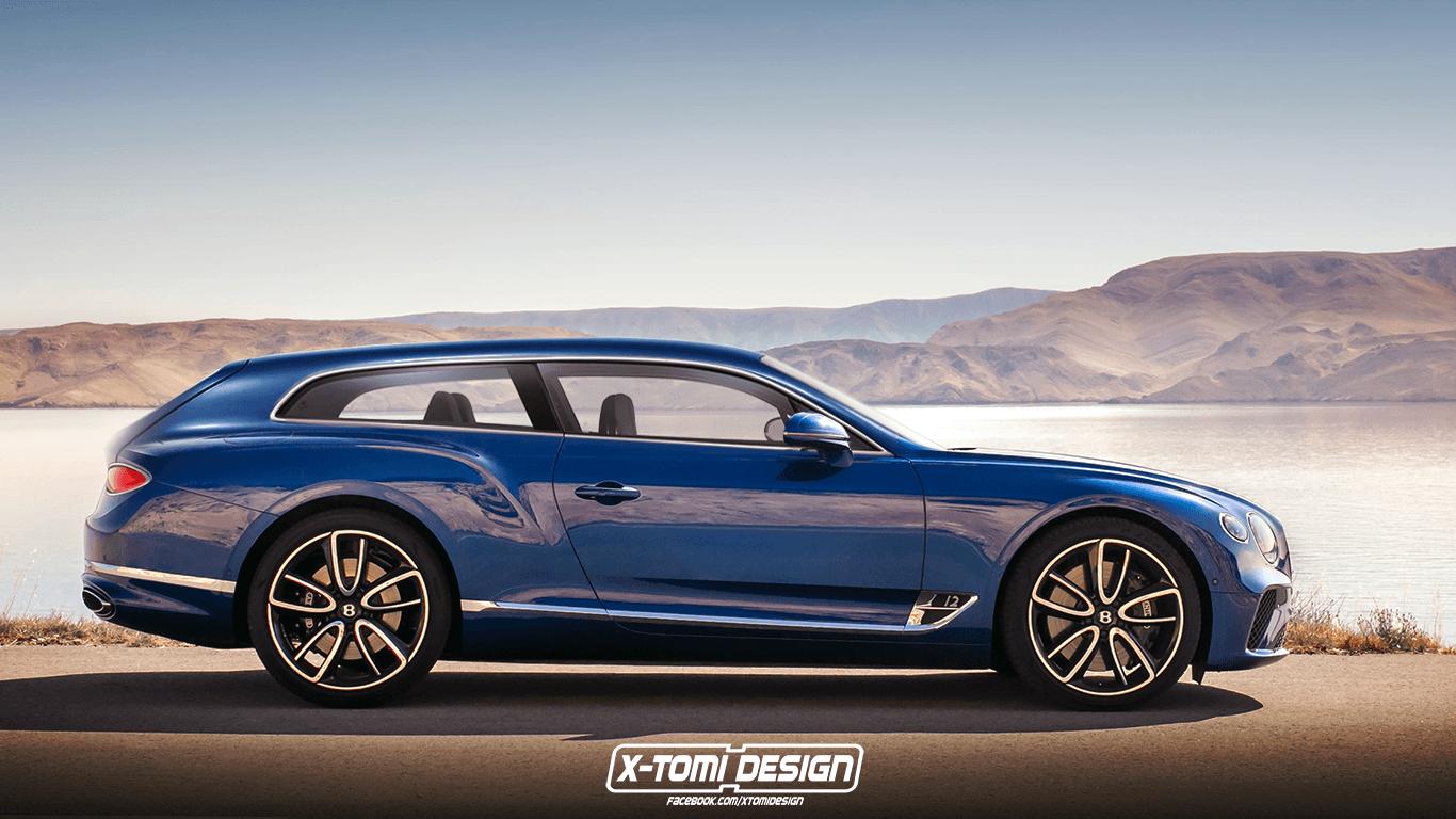 Un concept de Bentley Continental GT Shooting Brake | Actu ...
