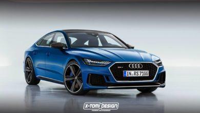 Photo de La future Audi A7 déclinée en RS 7 par un designer