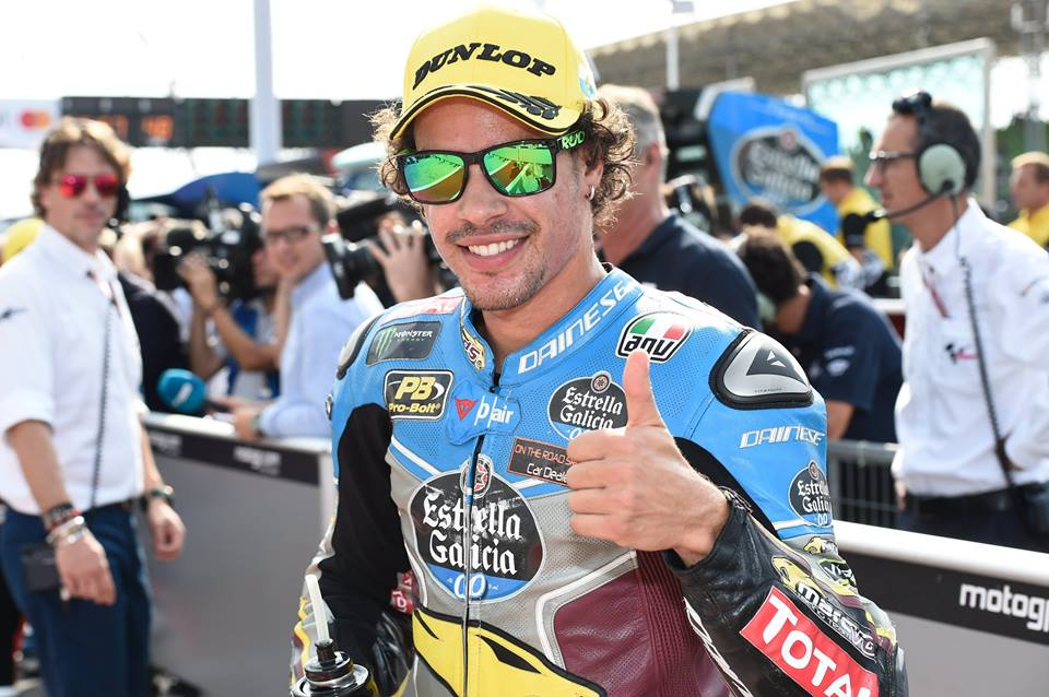 Franco Morbidelli sacré champion du monde de Moto2