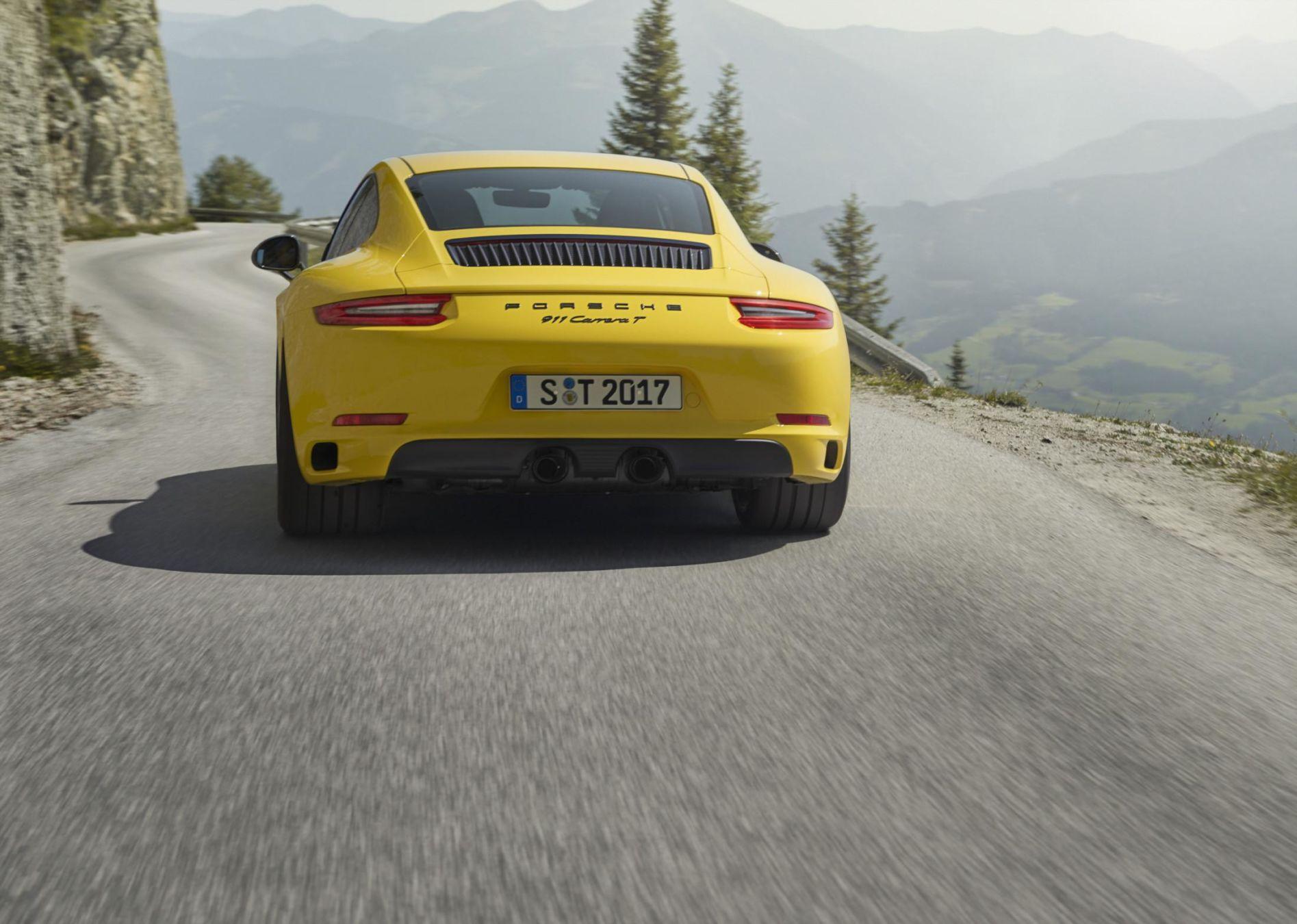 Porsche 911 T, une nouvelle 911 à boite manuelle