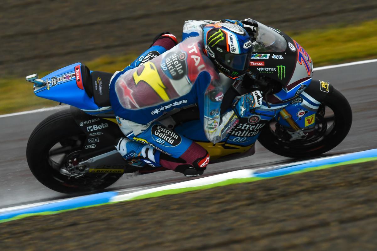 Aegerter privé de sa victoire à Saint-Marin en Moto2