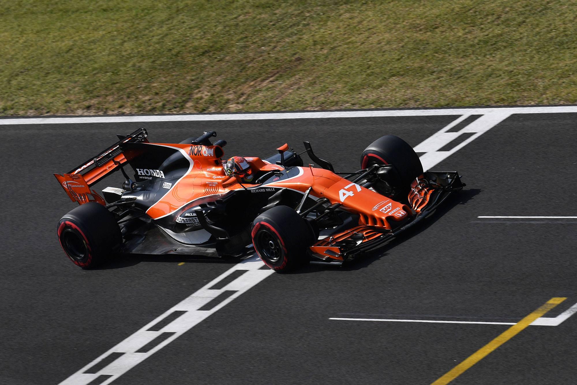 Lando Norris pilote de réserve chez McLaren en 2018