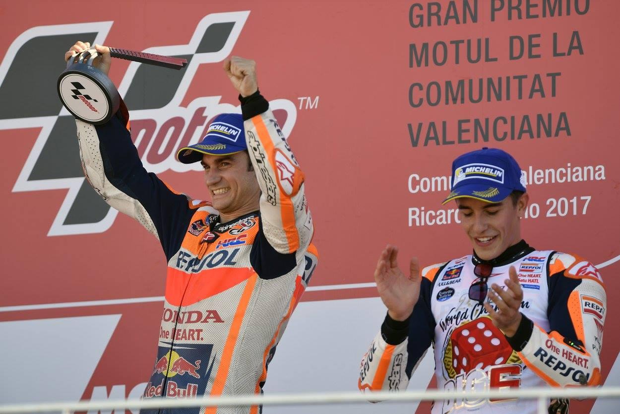 Gp de Valencia - Pedrosa l'emporte à Valencia, Marquez est Champion du Monde | Actu-Moteurs.com