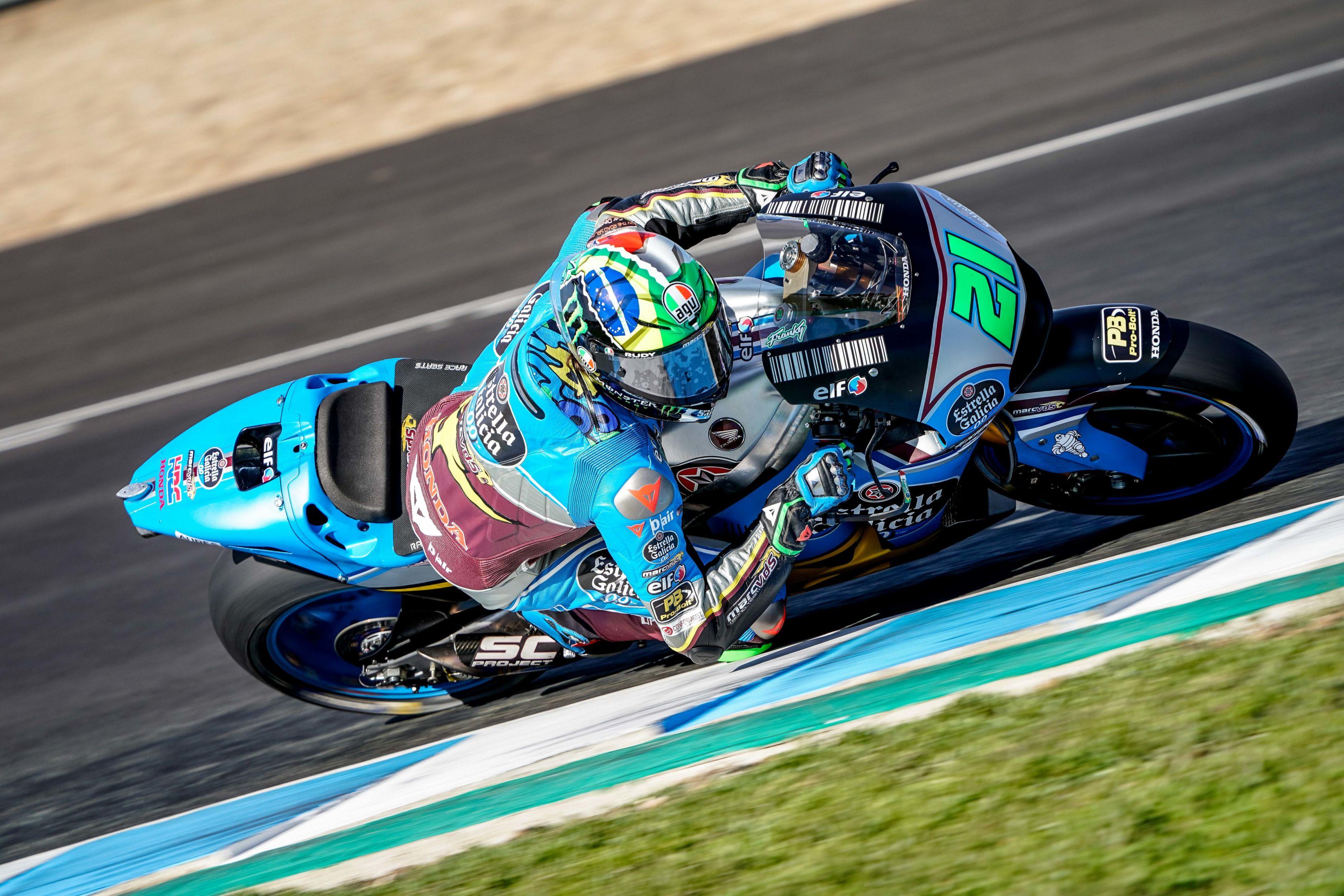 Morbidelli et Marquez en piste à Jerez ! | Actu-Moteurs.com