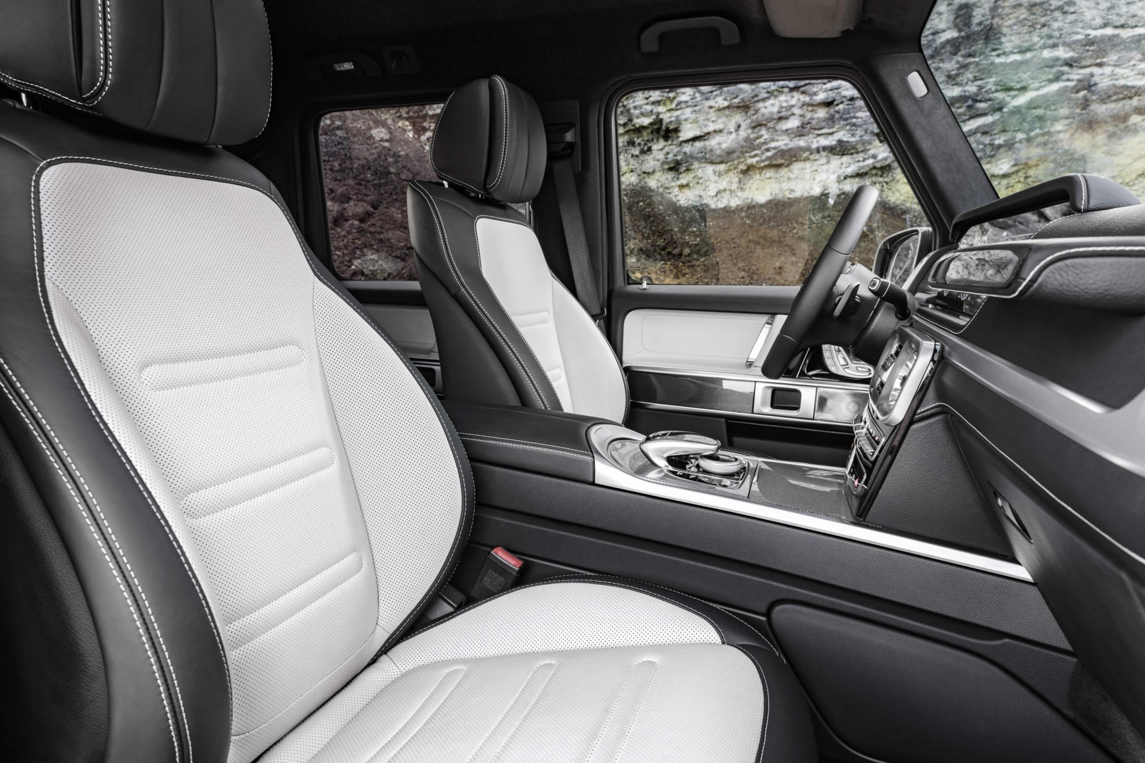 Des images du nouvel intérieur — Mercedes Classe G