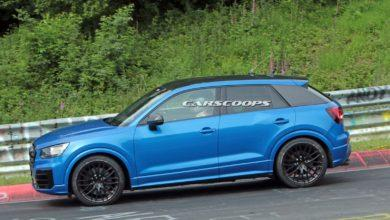 Photo de Audi prépare un SQ 2 : Le prototype aperçu sur le Nürburgring