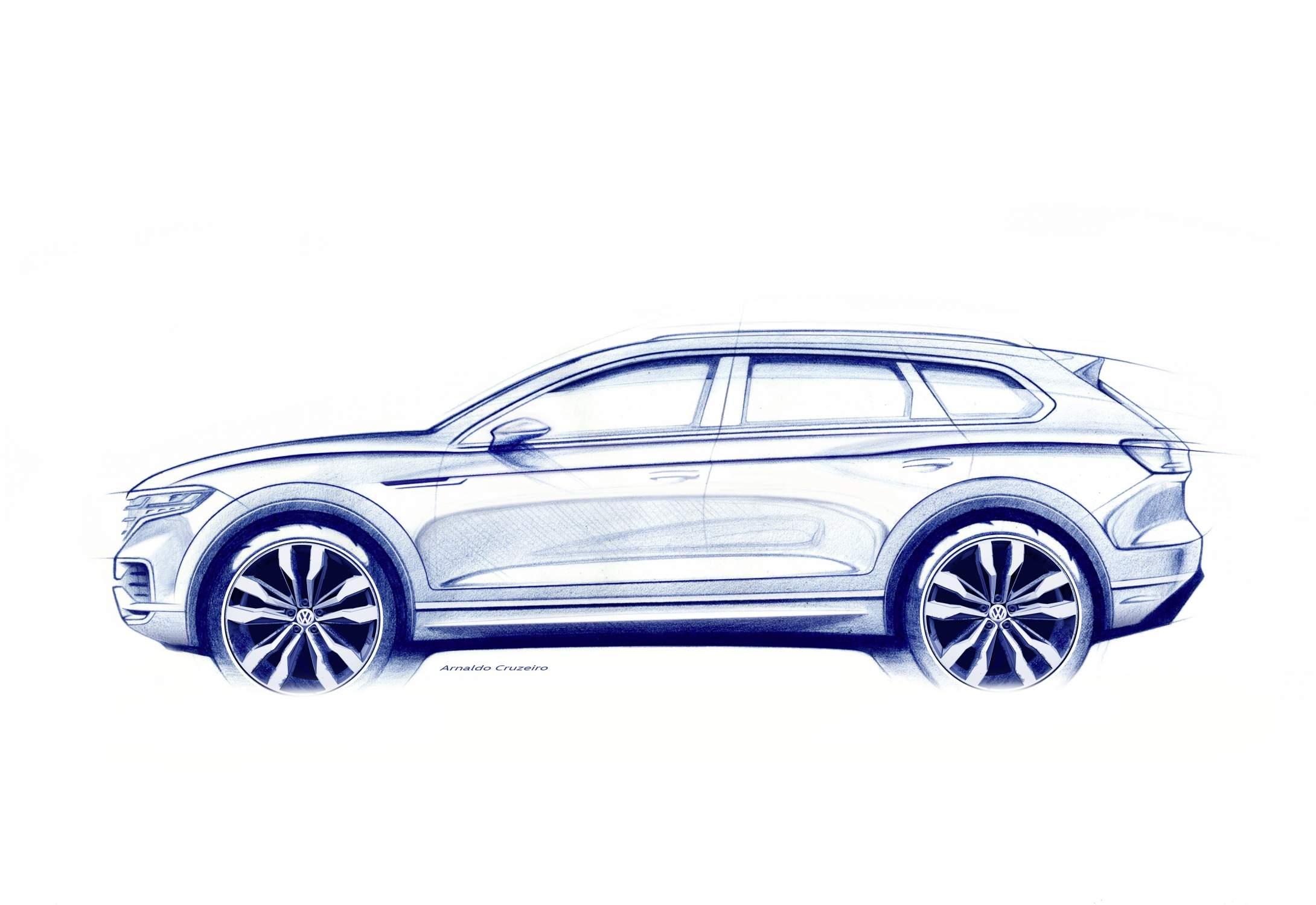 Volkswagen Touareg dévoilé le 23 mars à Pékin