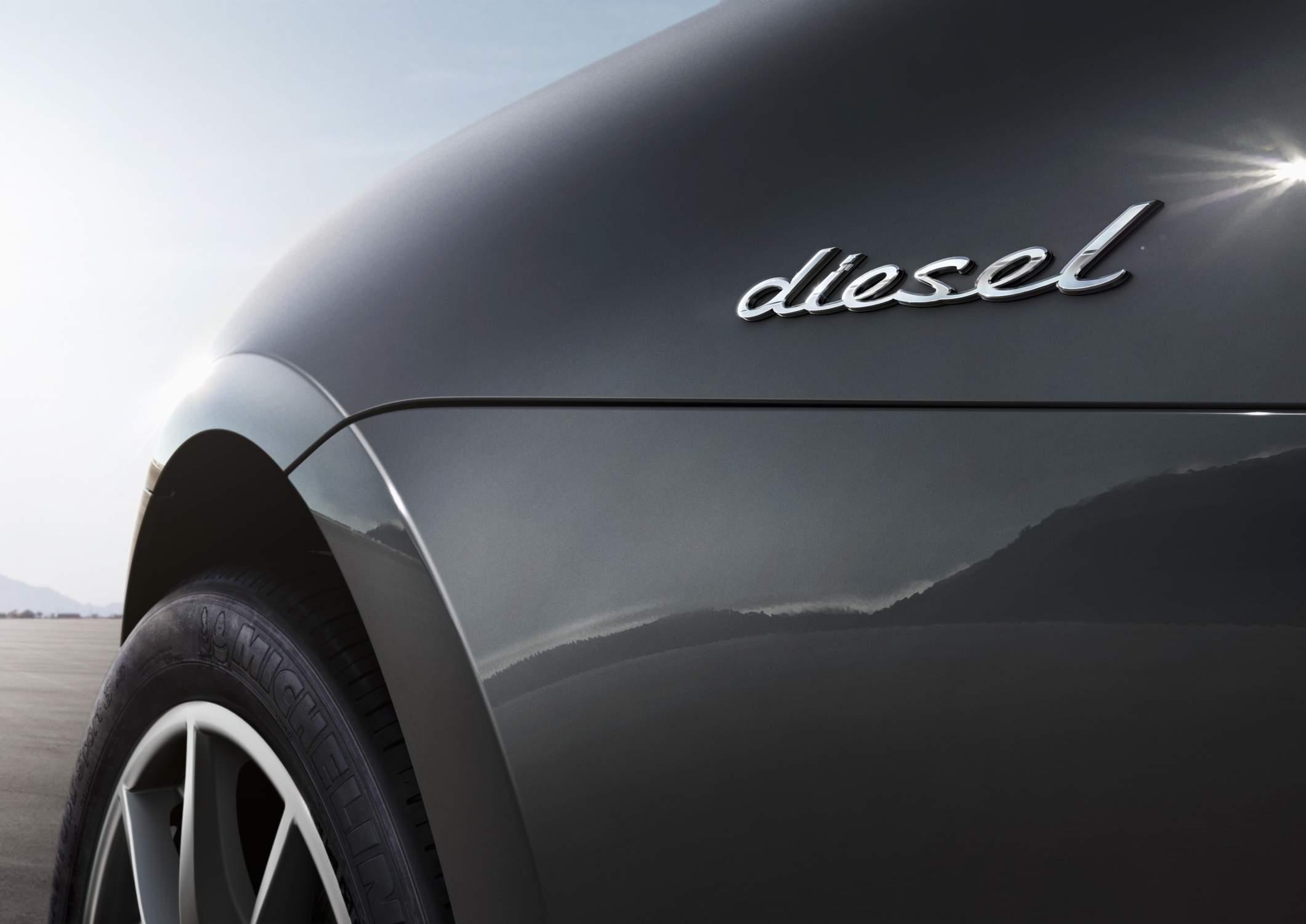 Porsche va arrêter le diesel