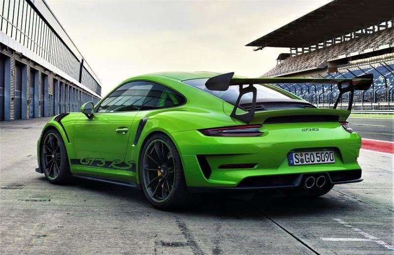 La Porsche 911 GT3 RS à Genève