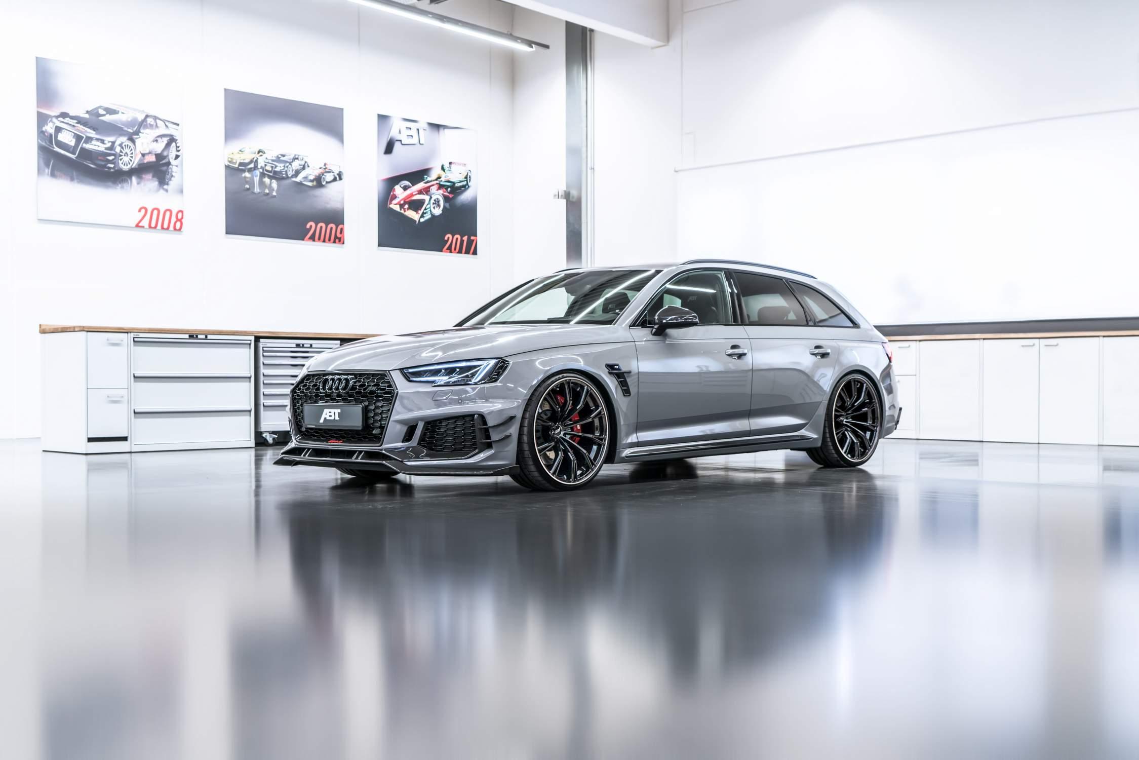 Salon De Geneve Une Audi Rs4 R Abt De 530 Chevaux Actu Moteurs Com