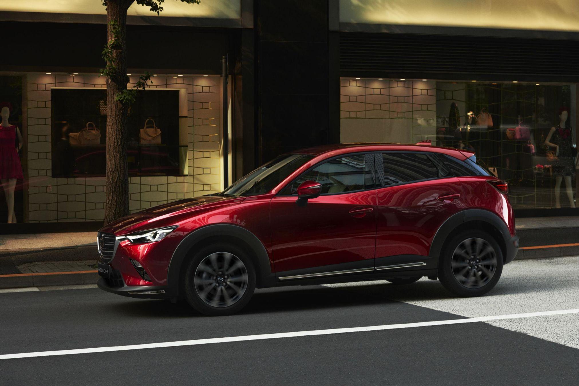Léger lifting pour le CX-3 — Mazda