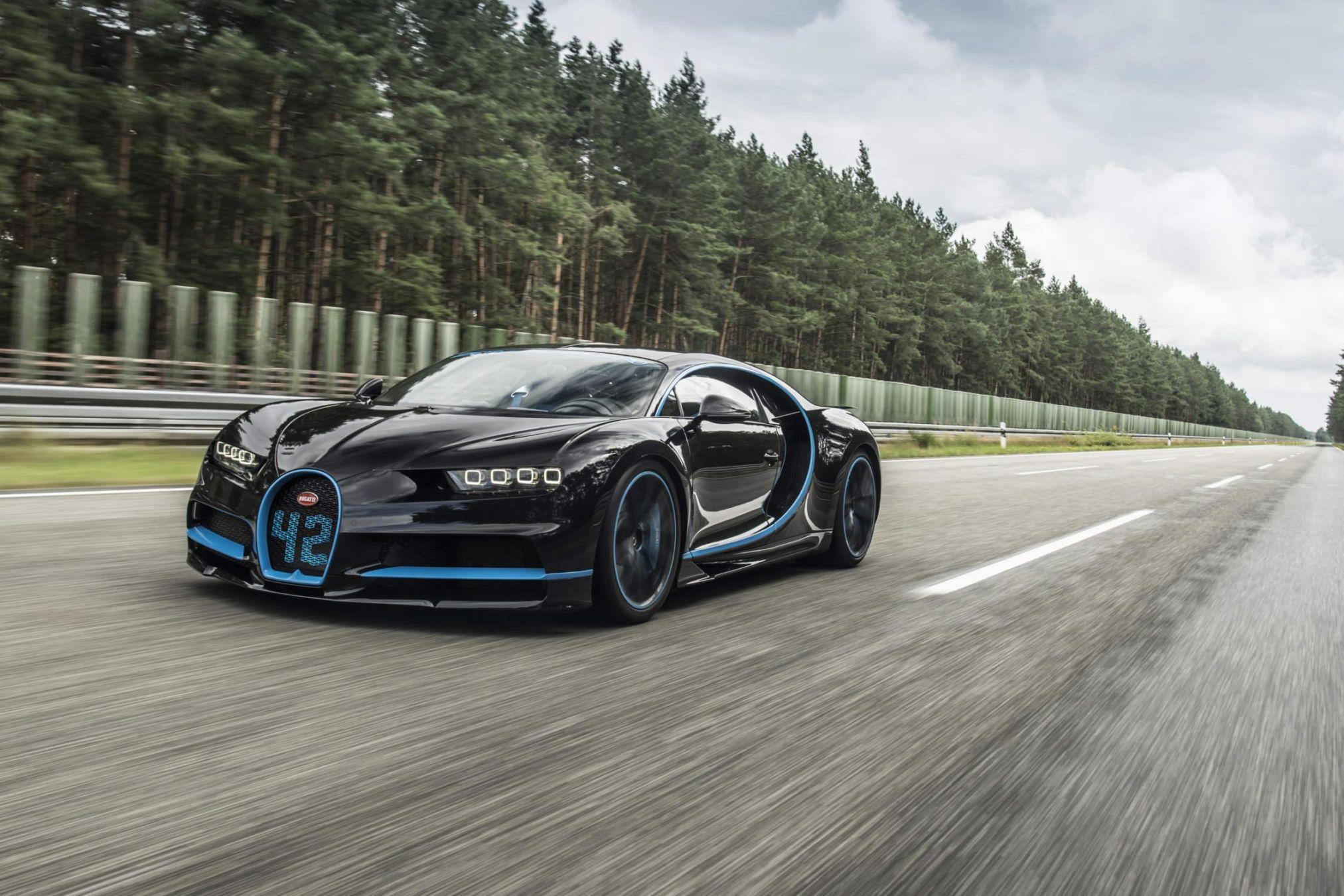 La Bugatti Chiron Sport (2018) affûtée pour Genève