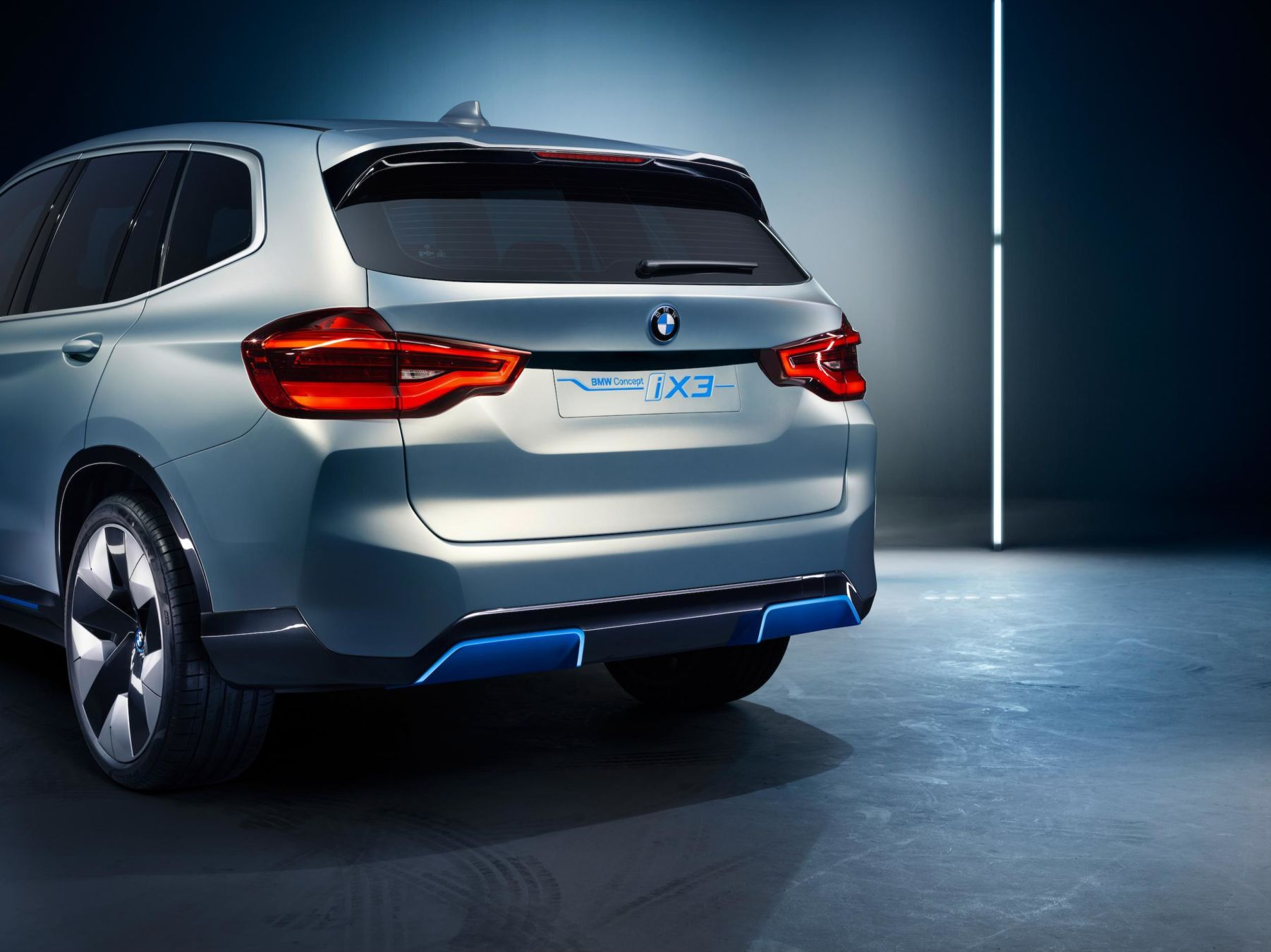 BMW iX3 Concept — Salon de Pékin