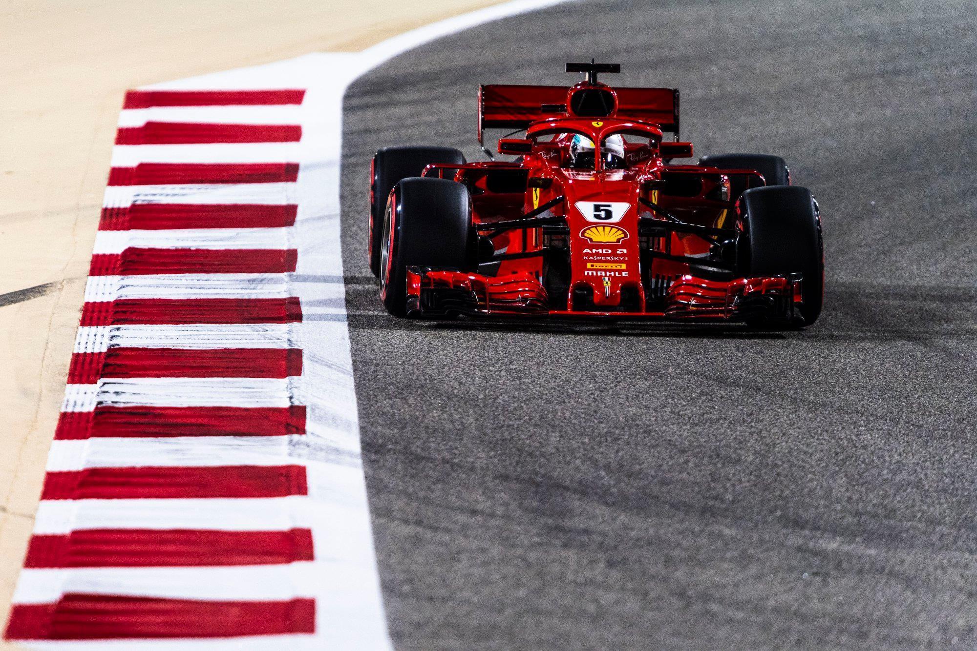 Vettel en pole devant Räikkönen, les Français placés — GP de Bahreïn