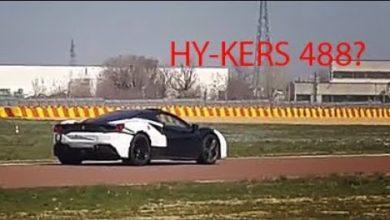 Photo de Vidéo : La Ferrari 488 Hybride surprise en plein test à Fiorano