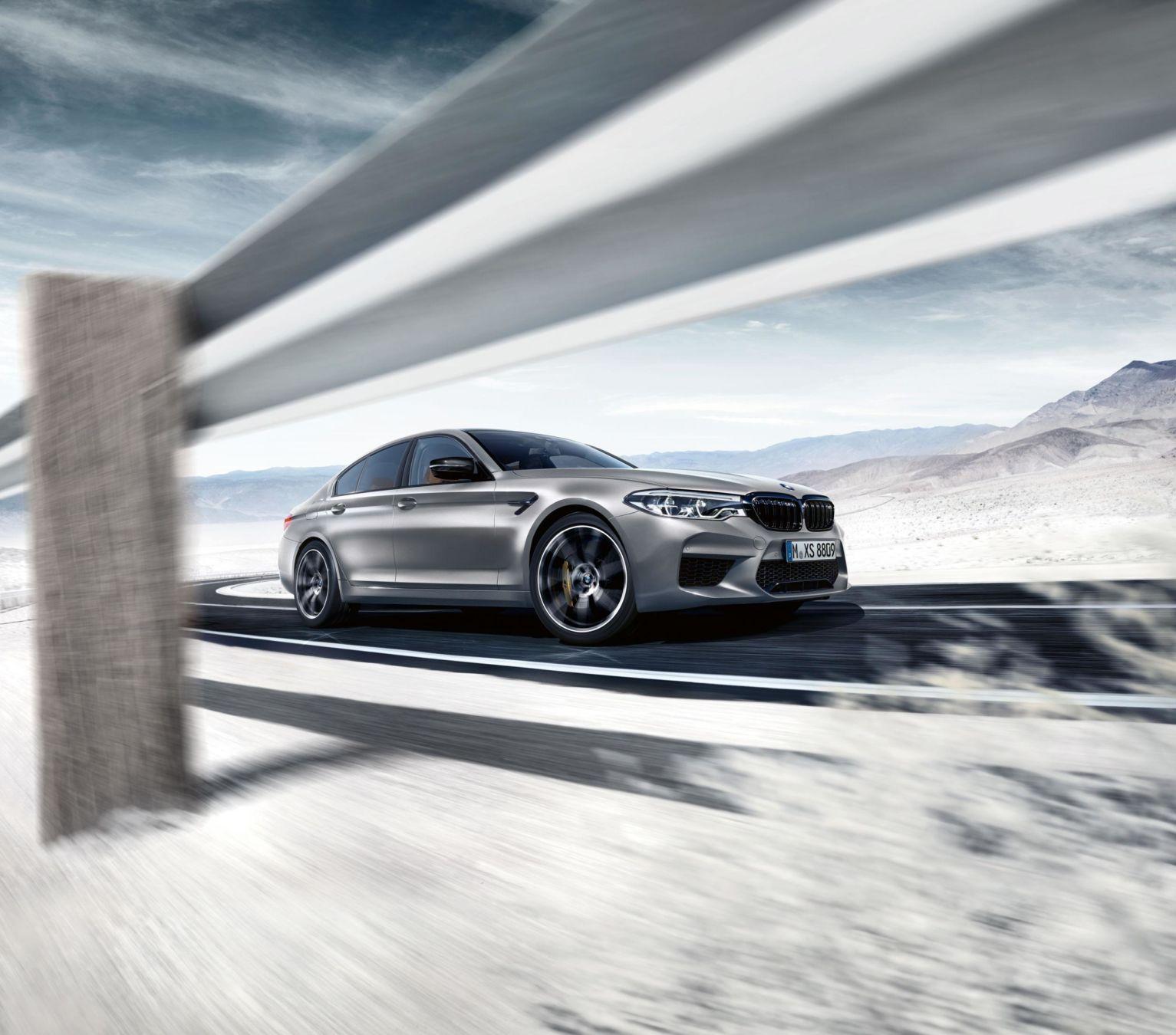 BMW M5 Competition : la sportive allemande gonflée à 625 ch