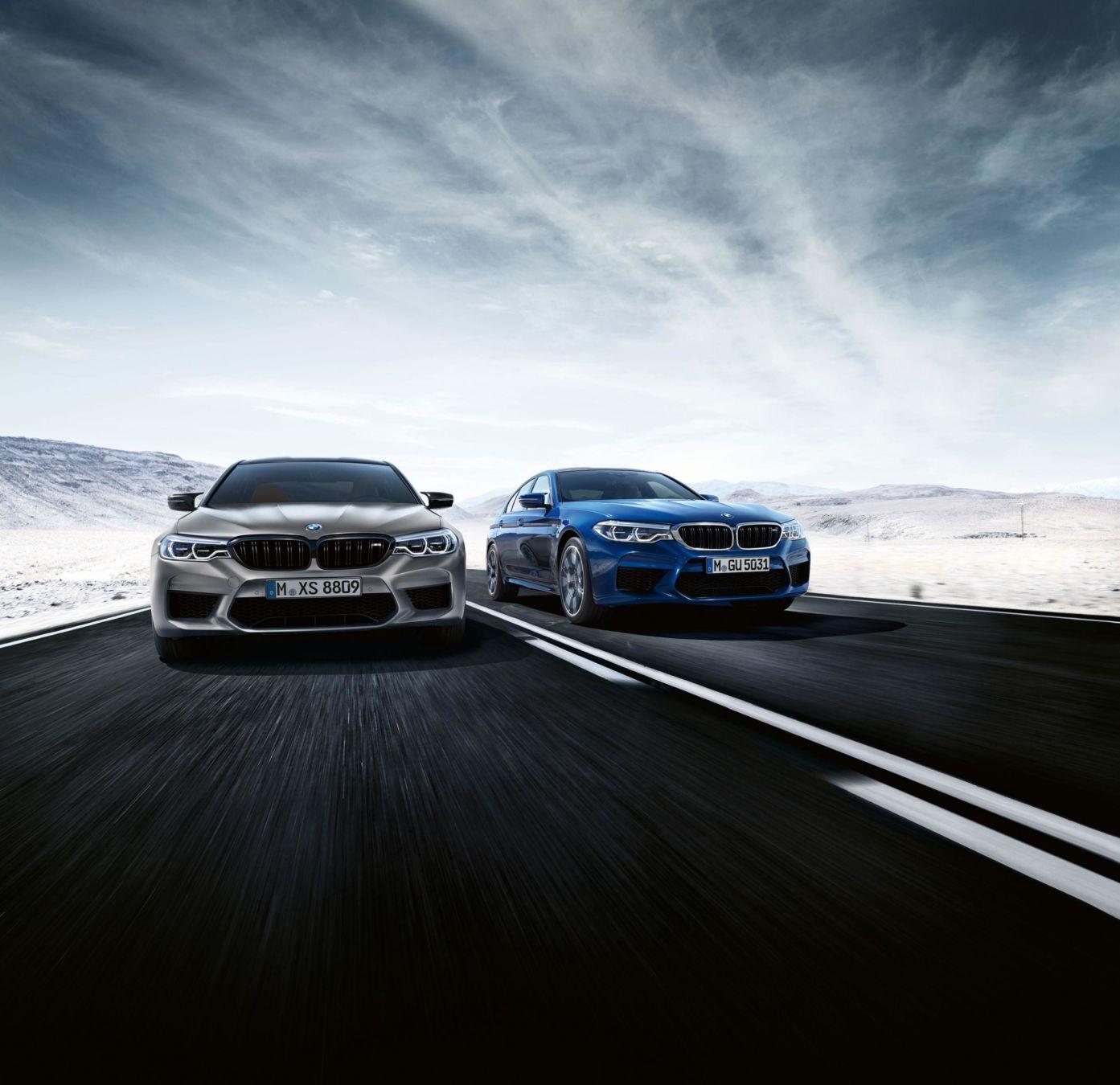 625 ch pour la nouvelle BMW M5 Competition