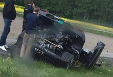 Photo de La Koenigsegg Agera RS Gryphon crashée une seconde fois pendant son développement