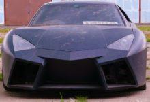 Photo de Un Russe transforme une Mitsubishi GTO de 1991 en une «Lamborghini Reventon»