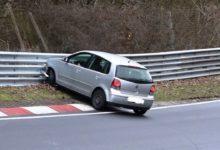 Photo de Vidéo : Il crash sa Volkswagen Polo comme un grand sur le Nürburgring