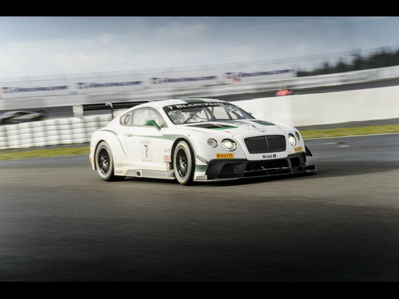 Andy Meyrick de retour en Bentley avec Team Parker Racing