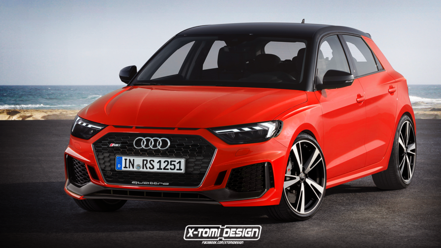 X-Tomi imagine la version RS de l'Audi A1