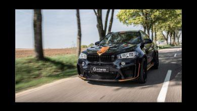 Photo de 750 chevaux pour le BMW X6 M préparé par G-Power