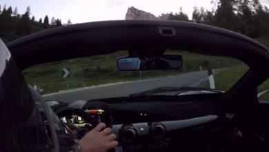 Photo de Vidéo : Une route de montagne fermée et une LaFerrari Aperta – Fun garanti !