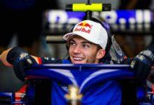 Photo de RedBull confirme Pierre Gasly pour 2019 !