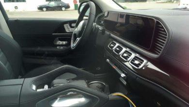 Photo de L'intérieur du nouveau Mercedes GLE se dévoile