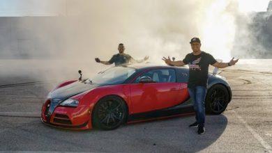 Photo de Vidéo : Une Bugatti Veyron convertie en propulsion
