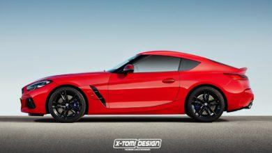 Photo de La nouvelle BMW Z4 imaginée en coupé